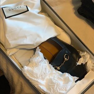 Gucci Womens Jordaan Loafers black
